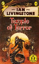 Temple of Terror. 1987. Paperback.