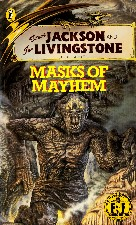 Masks of Mayhem. 1987. Paperback.
