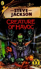 Creature of Havoc. 1987. Paperback.