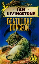 Deathtrap Dungeon. 1987. Paperback.