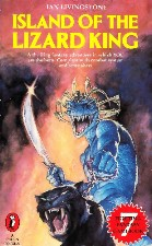 Island of the Lizard King. 1984. Paperback.