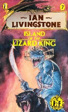 Island of the Lizard King. 1987. Paperback.