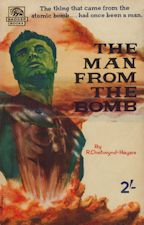 The Man from the Bomb. 1959. Paperback