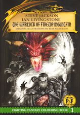 The Warlock of Firetop Mountain. 2016. Large format paperback.
